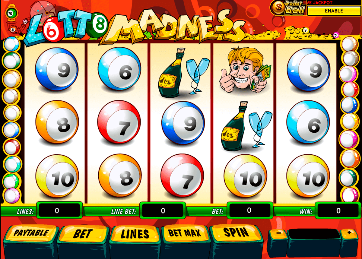 lotto madness playtech casino slot spel