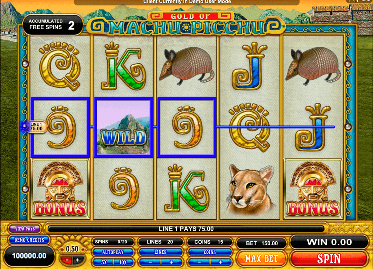 machu picchu microgaming casino slot spel