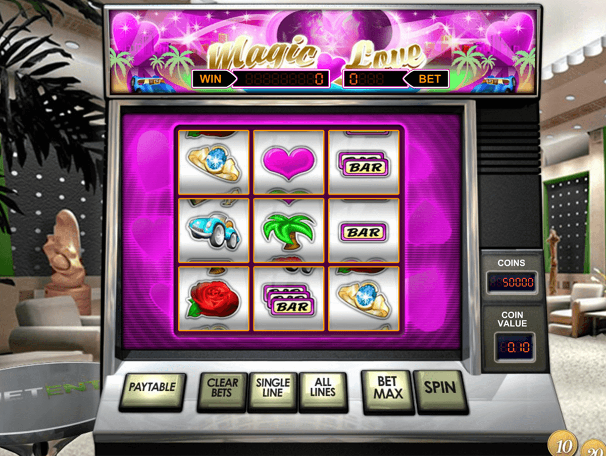 magic love netent casino slot spel