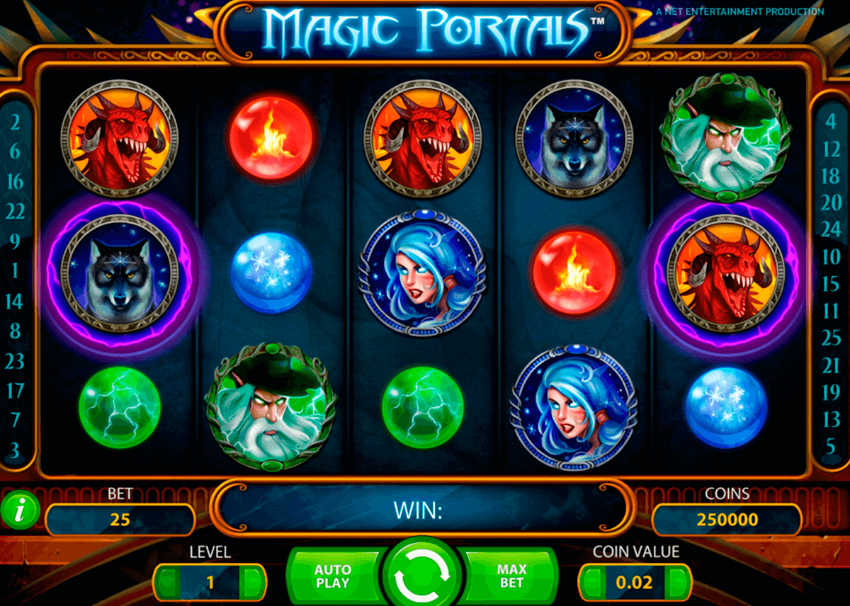 magic portals netent casino slot spel
