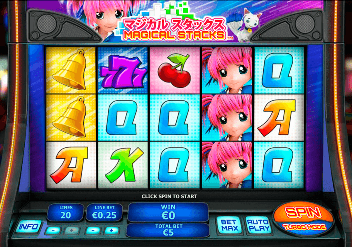 magical stacks playtech casino slot spel