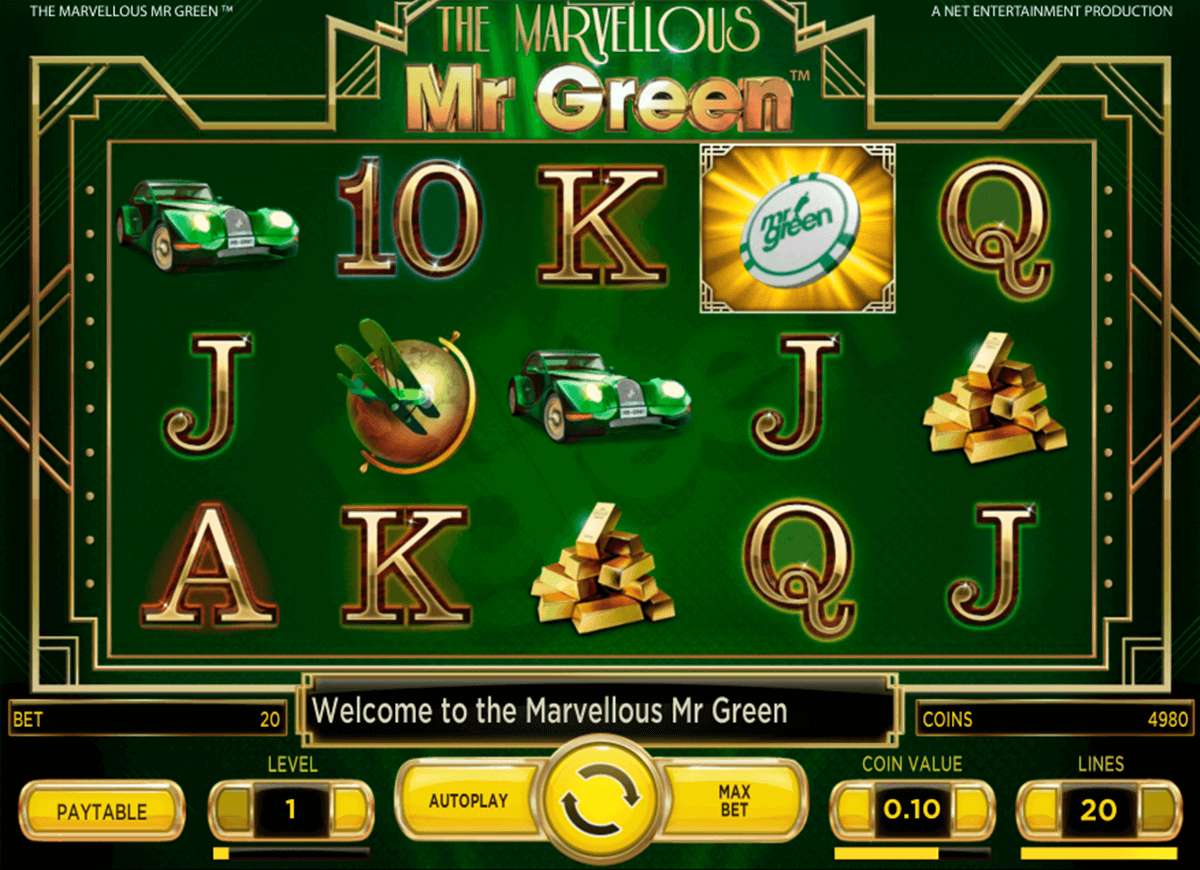 marvellous mr green netent casino slot spel