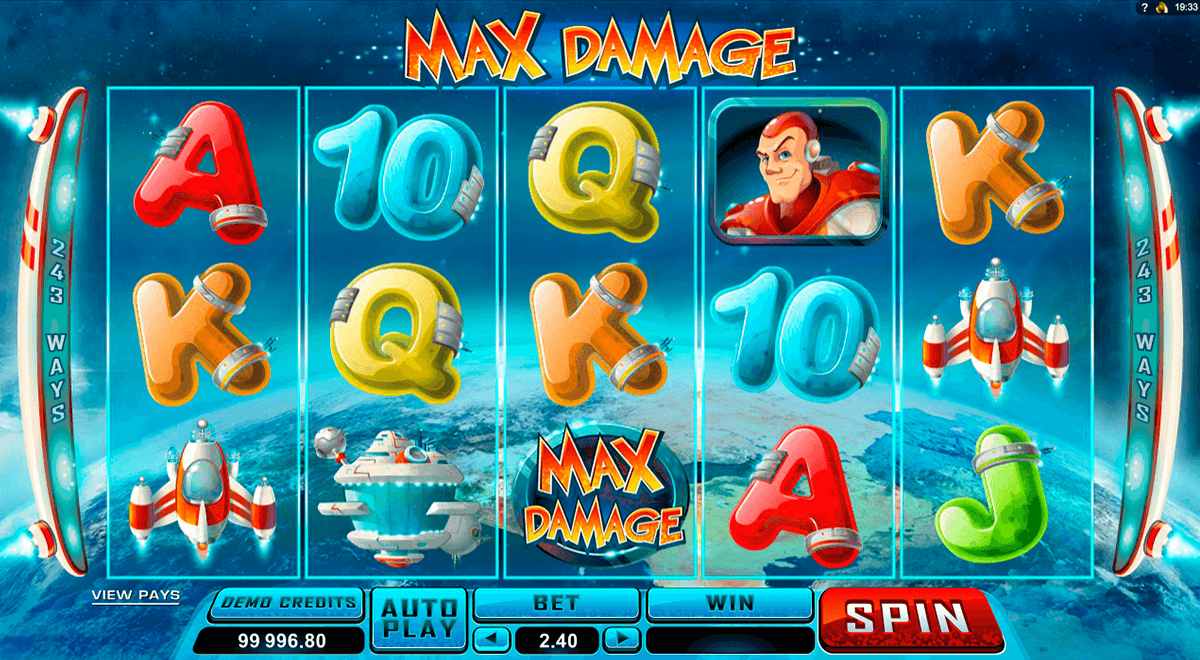 max damage microgaming casino slot spel
