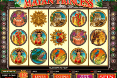 mayan princess microgaming casino slot spel