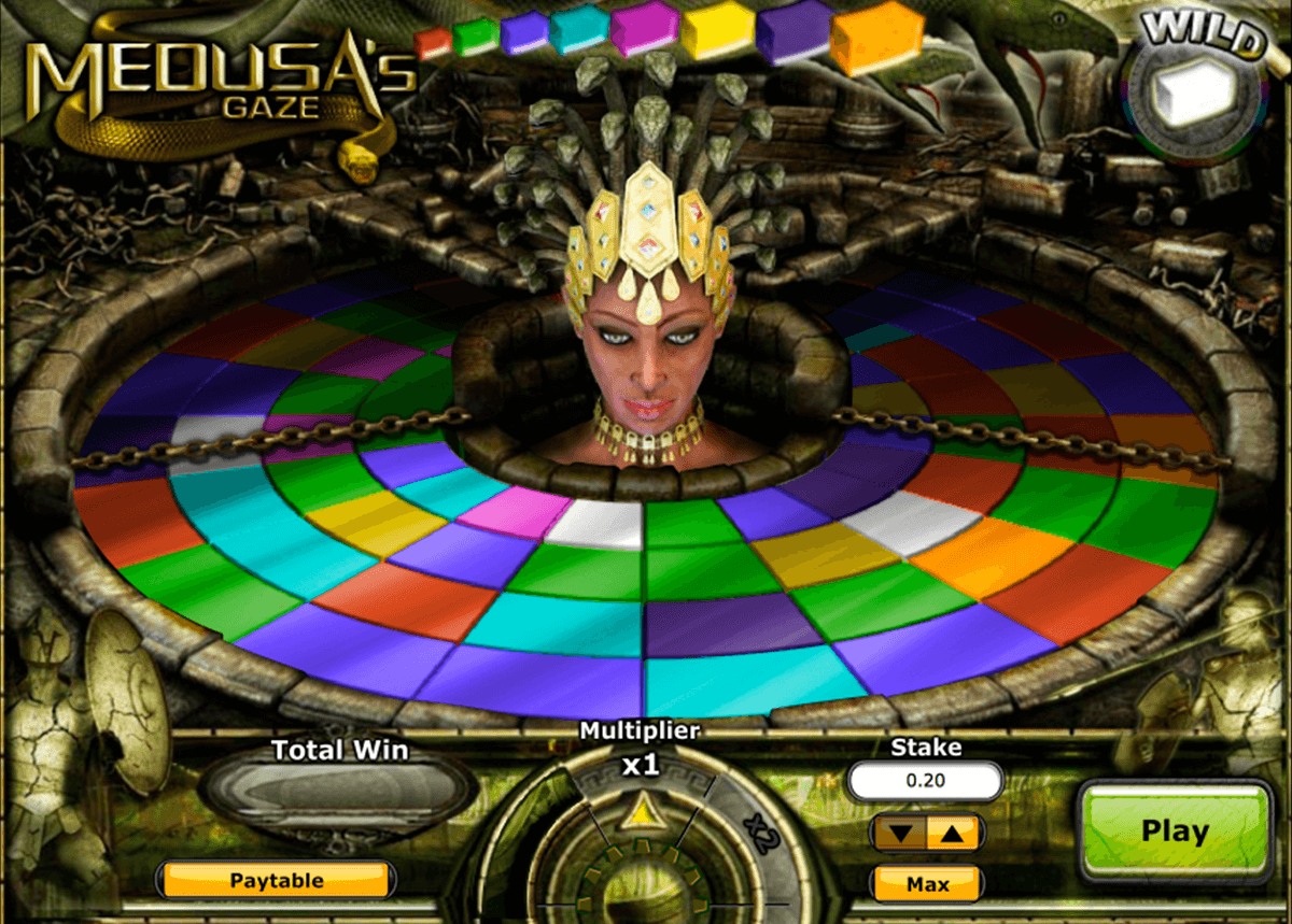 medusas gaze playtech casino slot spel