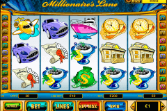 millionaires lane playtech casino slot spel