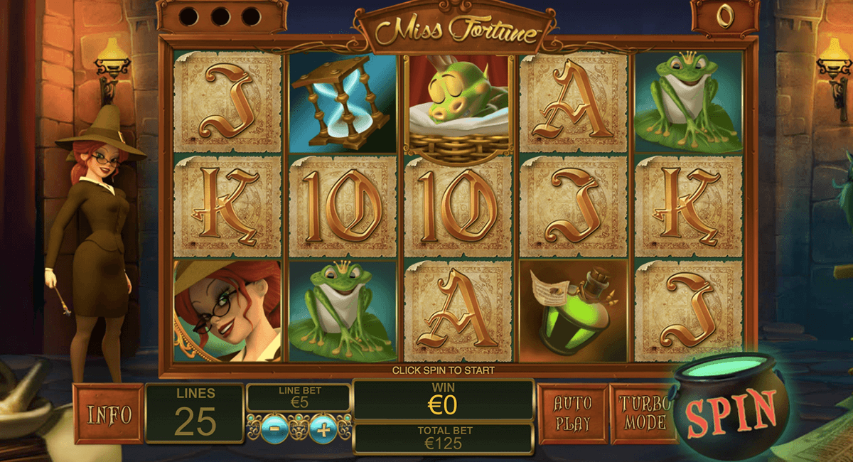 miss fortune playtech casino slot spel