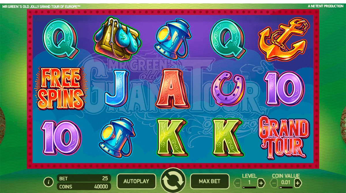 mr greens old jolly grand tour of europe netent casino slot spel