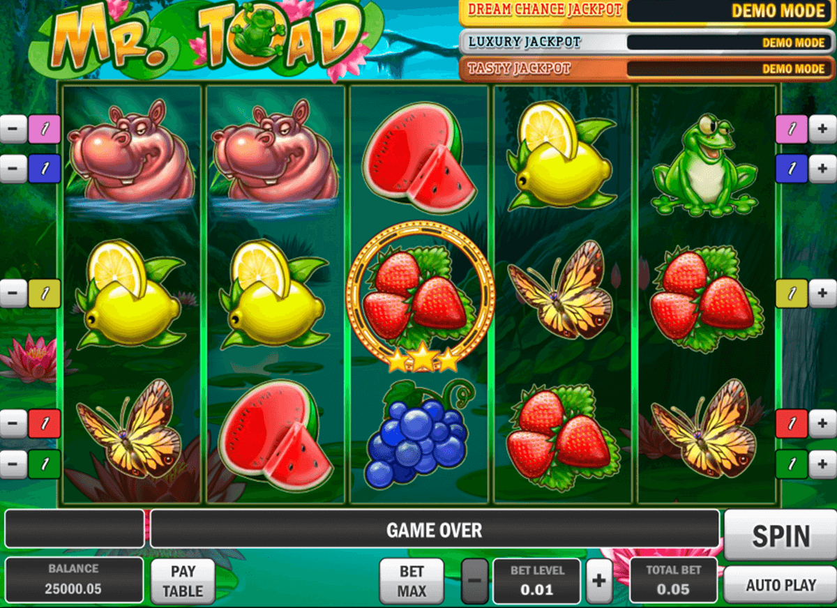 mr toad playn go casino slot spel