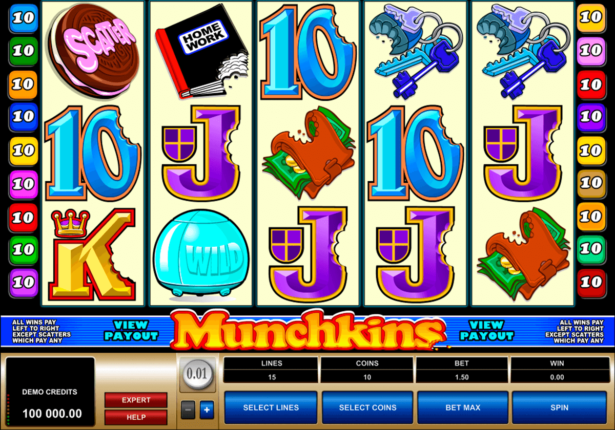 munchkins microgaming casino slot spel
