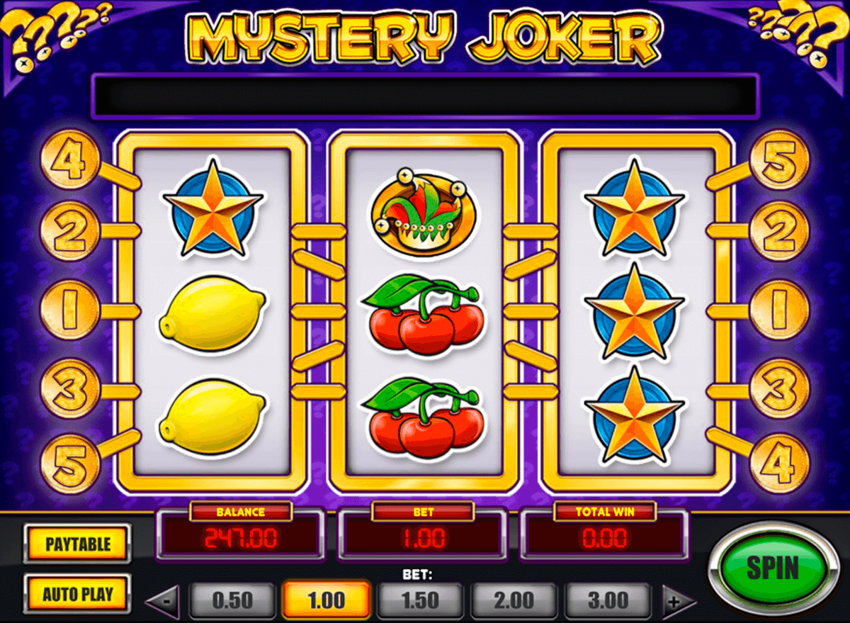 mystery joker playn go casino slot spel