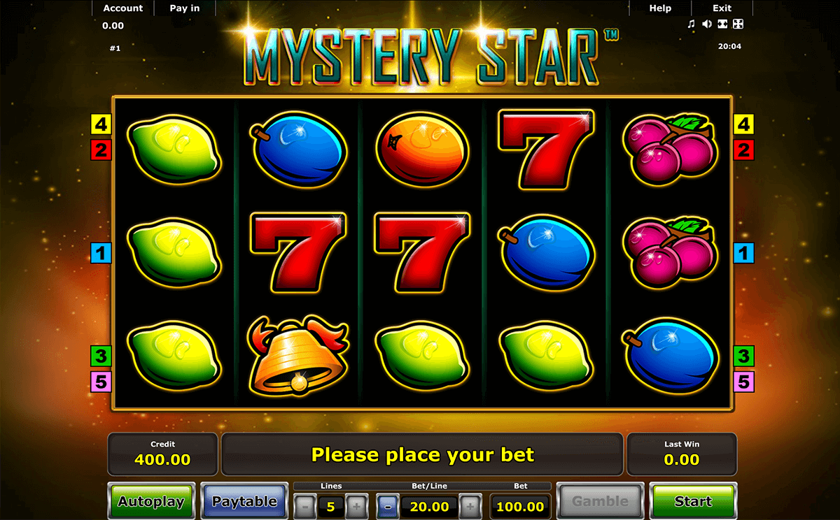 mystery star novomatic casino slot spel