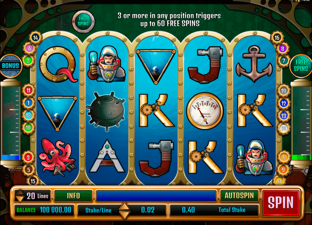nauticus microgaming casino slot spel