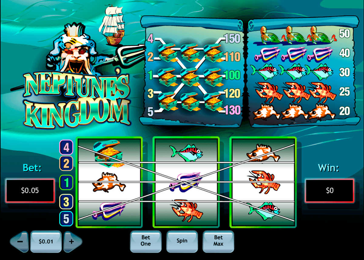 neptunes kingdom playtech casino slot spel
