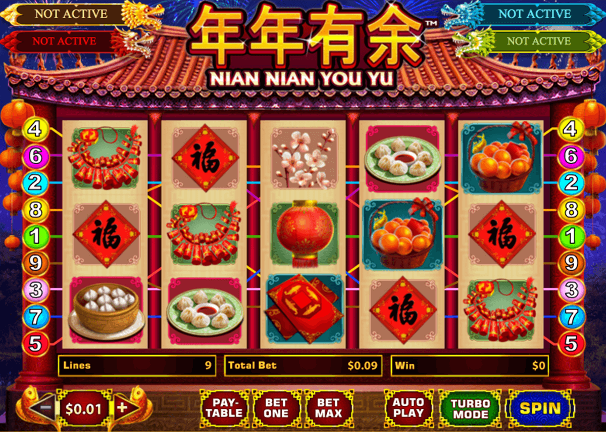 nian nian you yu playtech casino slot spel