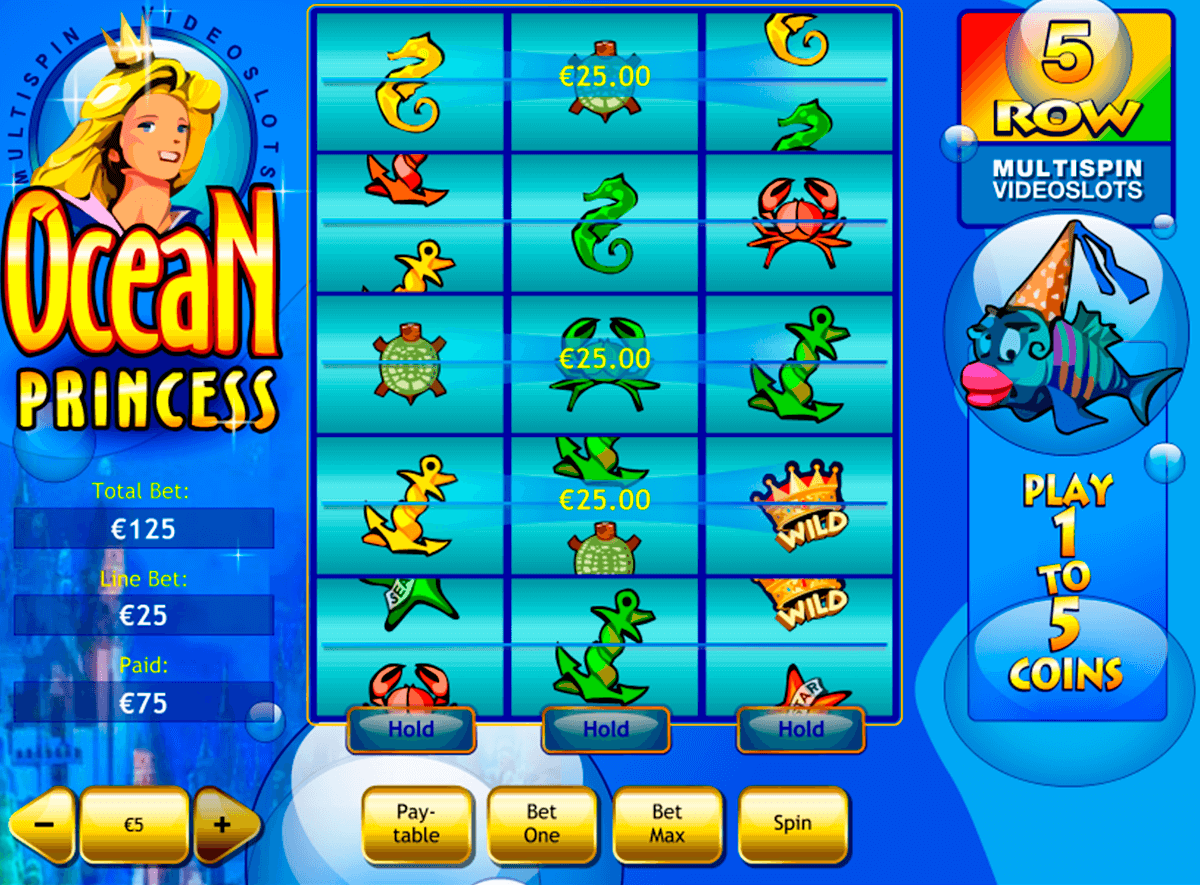 ocean princess playtech casino slot spel