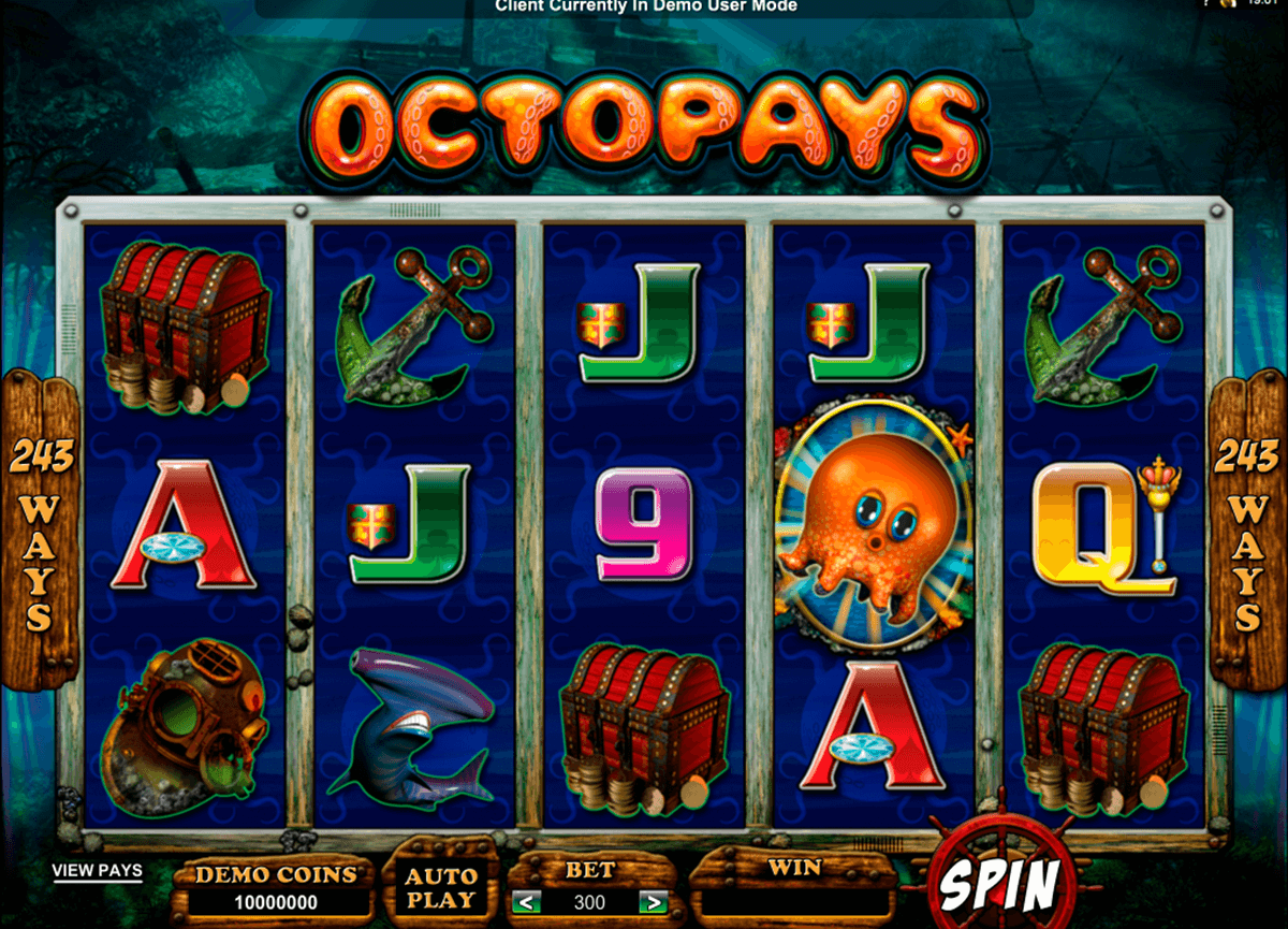 octopays microgaming casino slot spel