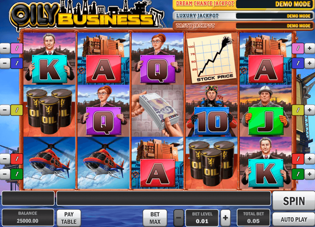 oily business playn go casino slot spel