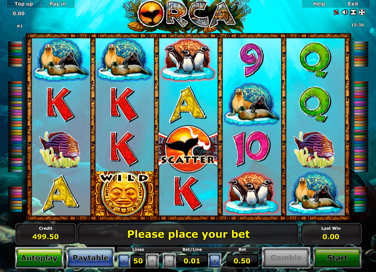 orca novomatic casino slot spel