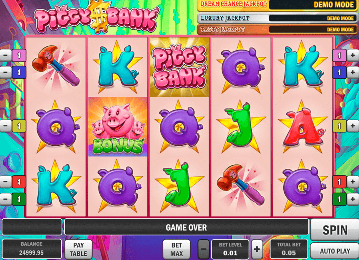 piggy bank playn go casino slot spel