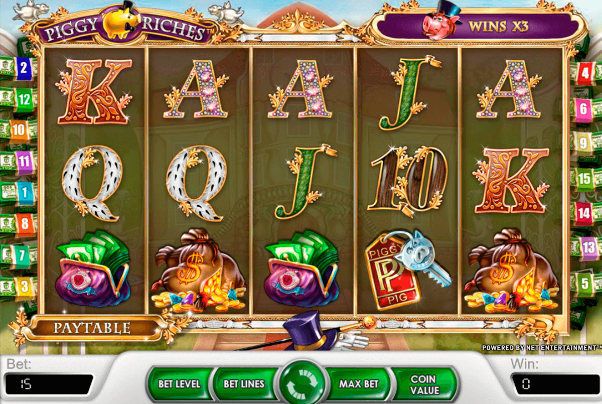 piggy riches netent casino slot spel