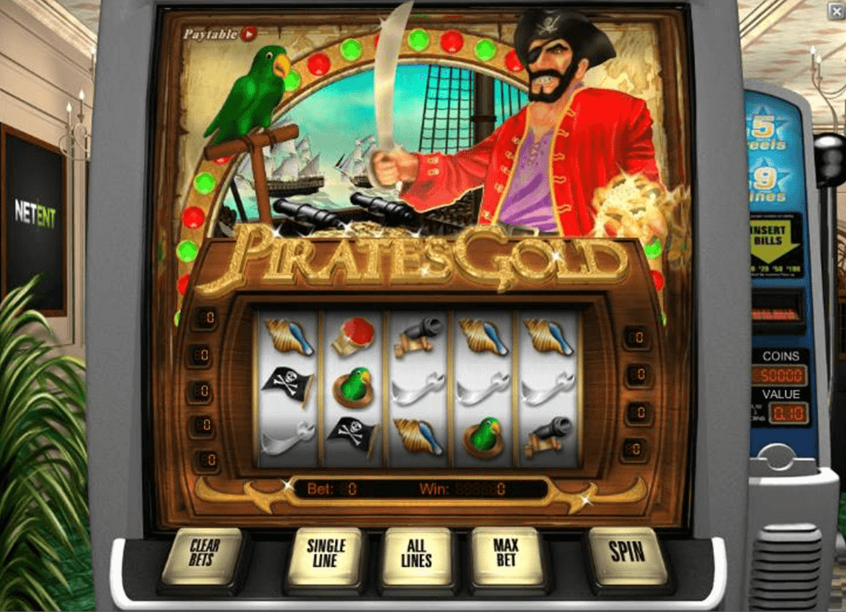pirates gold netent casino slot spel