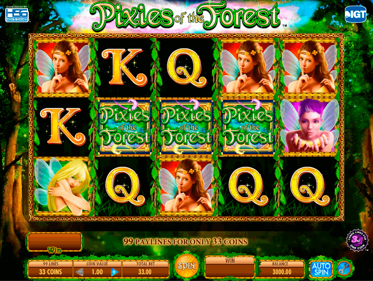 pixies of the forest igt casino slot spel