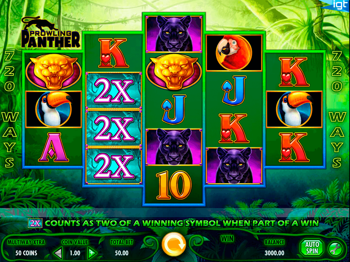 prowling panther igt casino slot spel