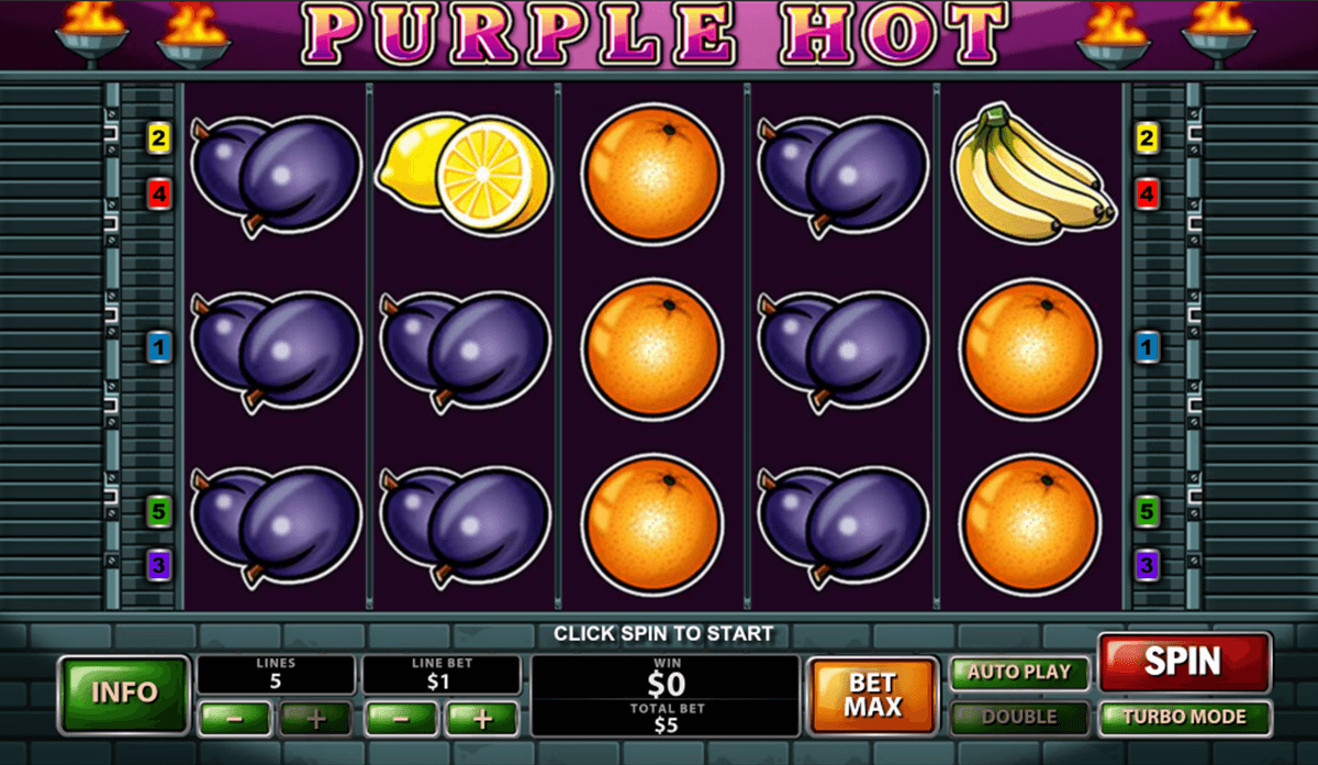 purple hot playtech casino slot spel