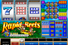 rapid reels microgaming casino slot spel