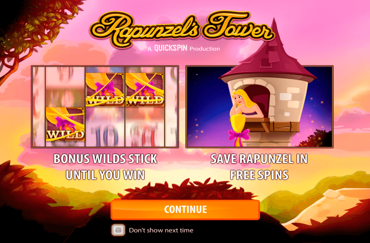 rapunzels tower quickspin casino slot spel