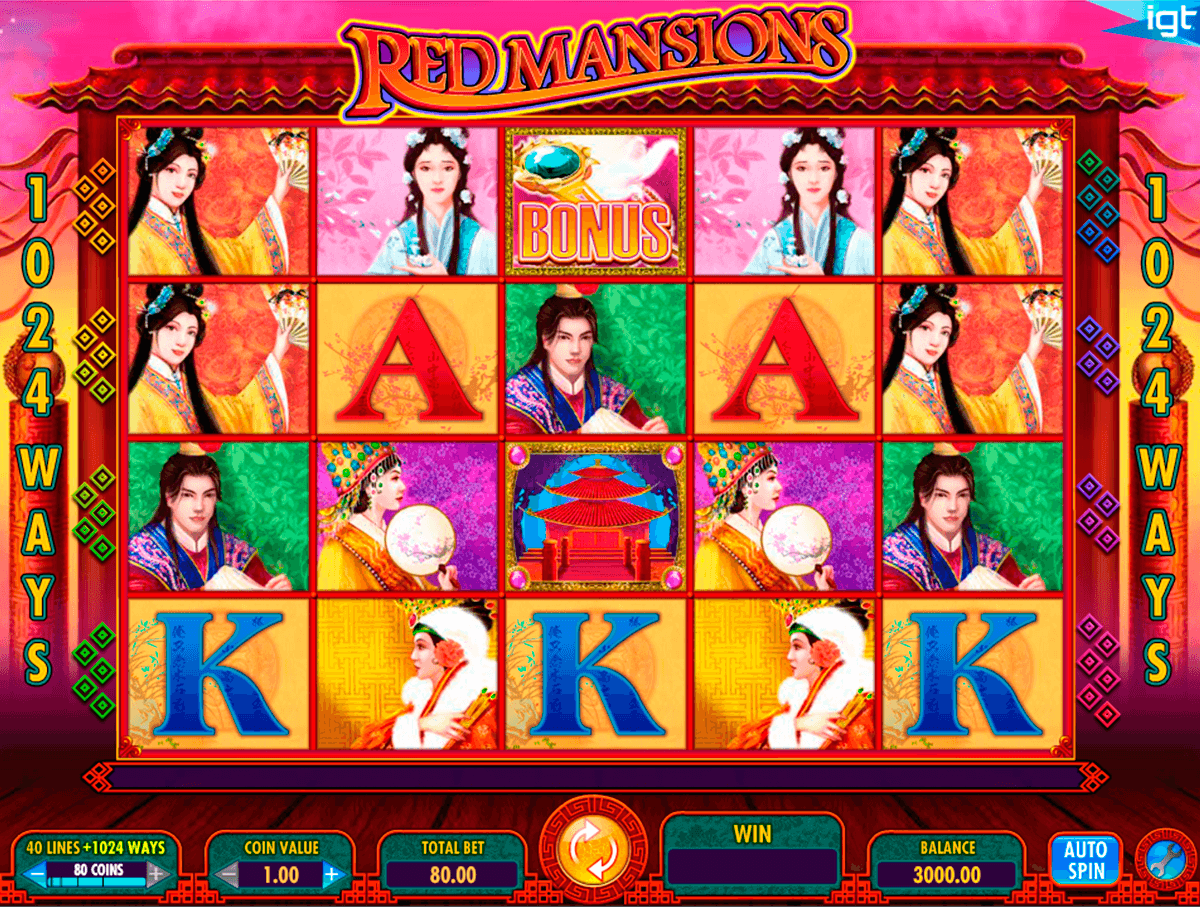 red mansions igt casino slot spel