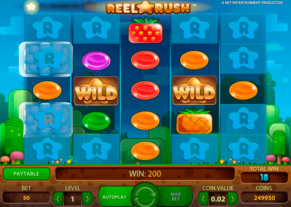 reel rush netent casino slot spel