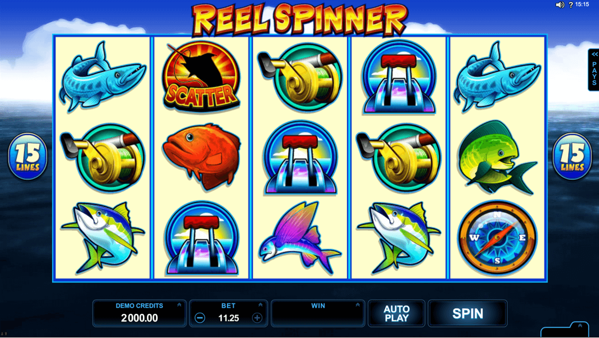 reel spinner microgaming casino slot spel