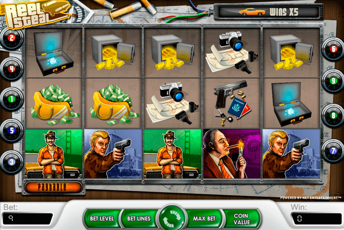 reel steal netent casino slot spel