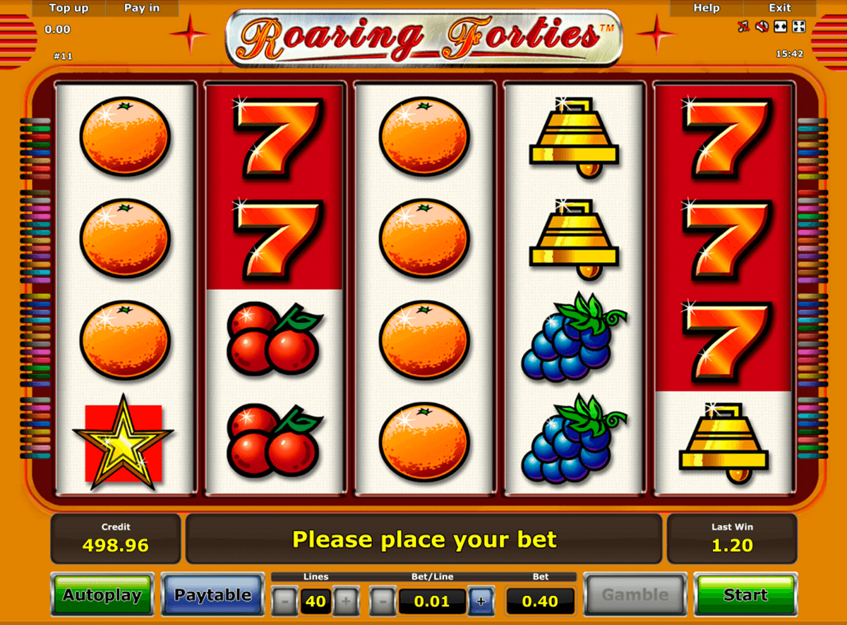 roaring forties novomatic casino slot spel