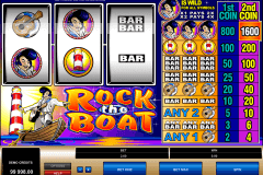 rock the boat microgaming casino slot spel