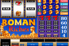roman riches microgaming casino slot spel
