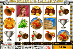 rome and glory playtech casino slot spel