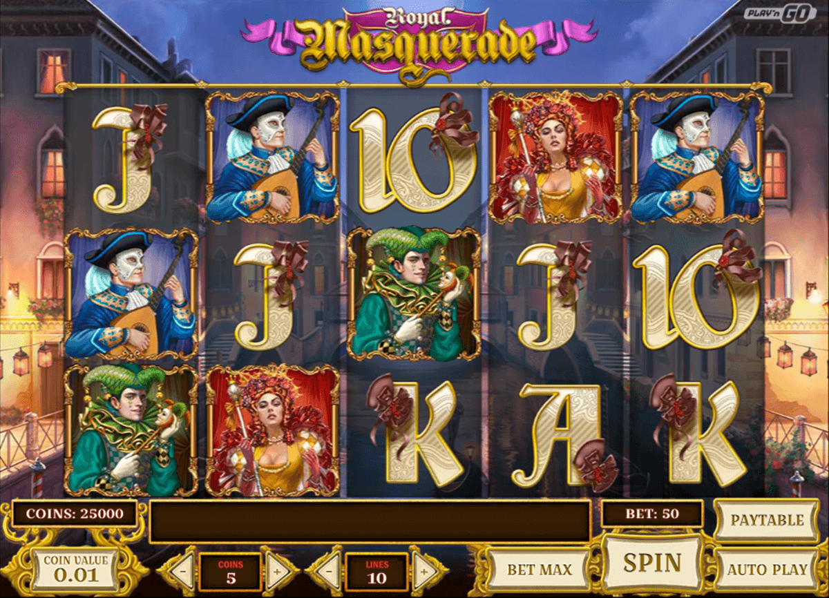 royal masquerade playn go casino slot spel