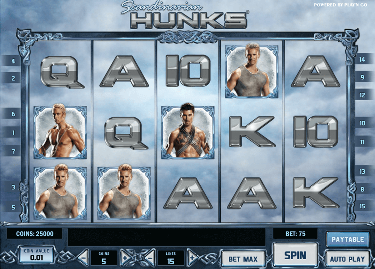 scandinavian hunks playn go casino slot spel