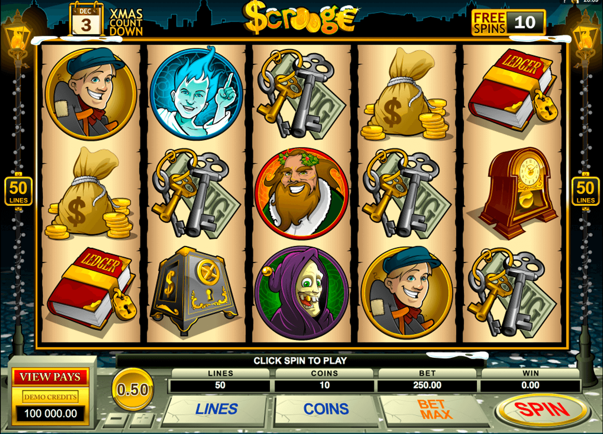 scrooge microgaming casino slot spel