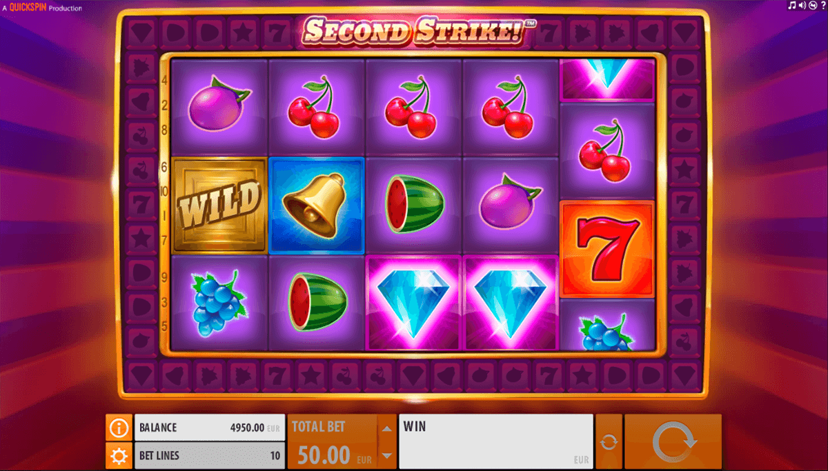 second strike quickspin casino slot spel