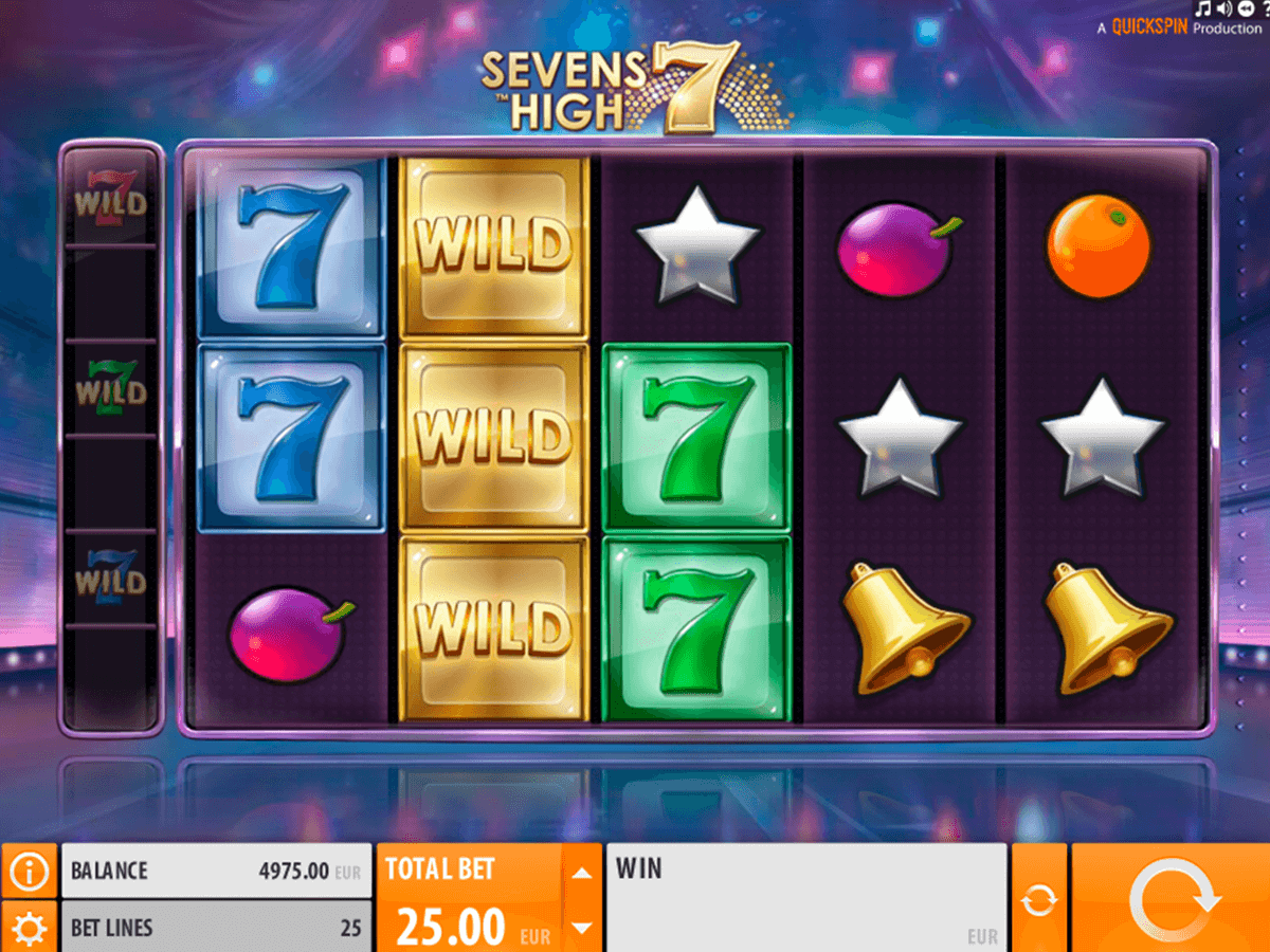 sevens high quickspin casino slot spel