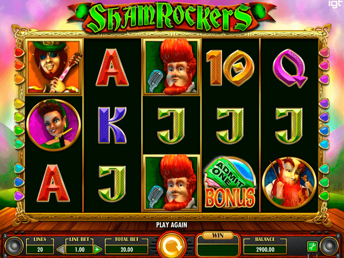 shamrockers igt casino slot spel