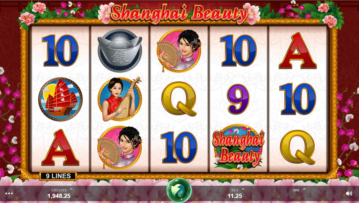 shanghai beauty microgaming casino slot spel