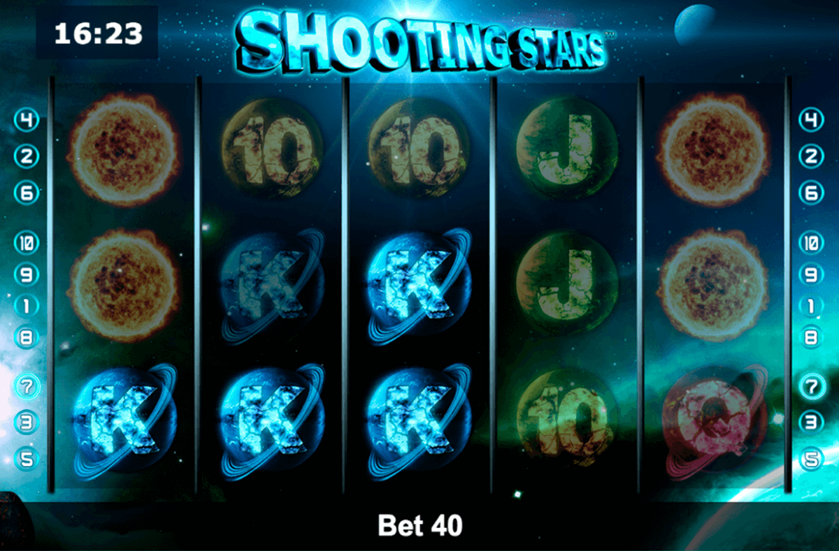 shooting stars novomatic casino slot spel