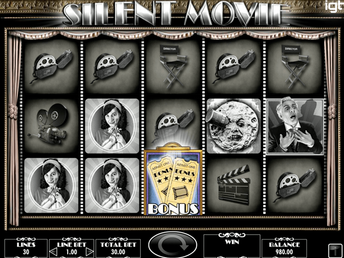 silent movie igt casino slot spel