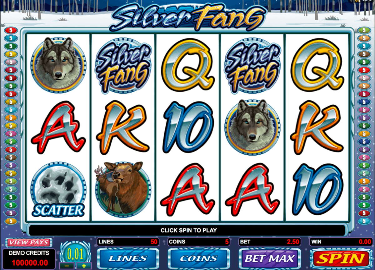 silver fang microgaming casino slot spel