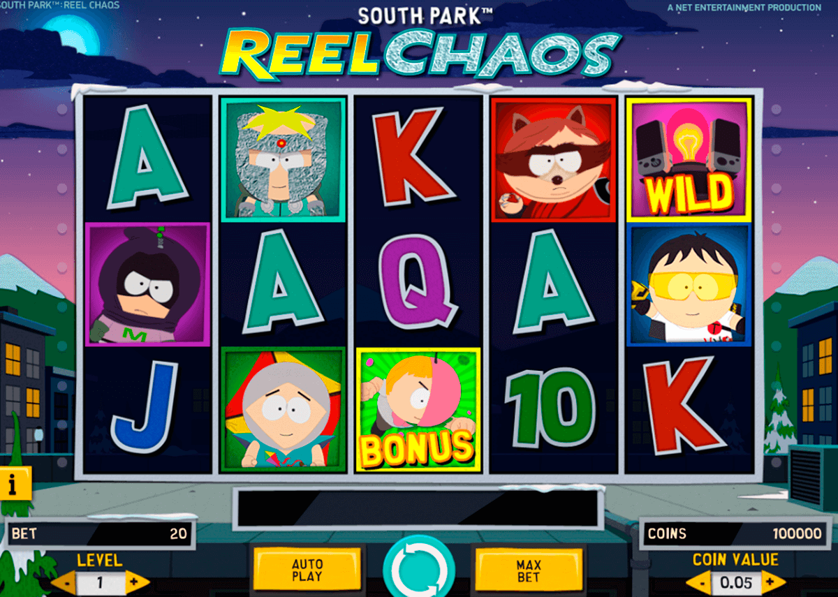 south park reel chaos netent casino slot spel